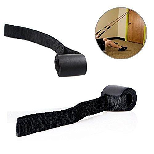 Gymforward Banda de resistencia para ejercicio resistente para puerta de anclaje de levantamiento de pesas y equipo de gimnasio en casa (2 unidades)