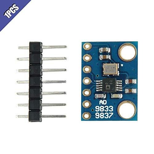 ICQUANZX AD9833 Sine Square Wave DDS Generador de señal Microprocesadores programable Módulo de Interfaz en Serie