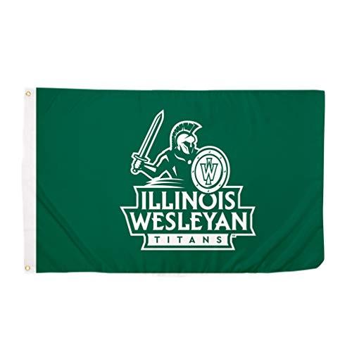 Desert Cactus Illinois Wesleyan University IWU Titans 100% Polyester Indoor Outdoor 3 feet x 5 feet Flag