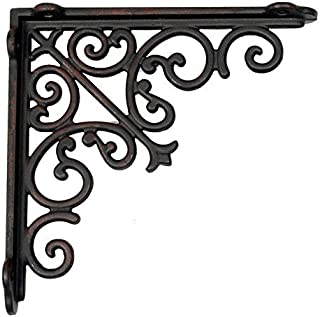 Aakrati Majestic Handcrafted Wall Bracket for Shelves (Comes it as Pair)