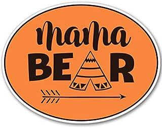 AK Wall Art Mama Bear Cute Native Vinyl Sticker - Car Window Bumper Laptop - Select Size