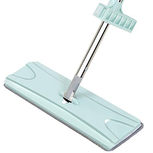 HSART Vadrouille à vaporiser pour Le Nettoyage des planchers, vadrouille à Plancher de Bois Franc avec Vaporisateur avec 2 tampons de vadrouille lavables en Microfibre,Bleu