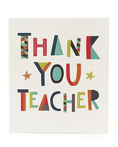 Dank u docent kaart - ideaal om te sturen met dank u docent geschenken - docent waardering kaart te sturen met docent waardering geschenken