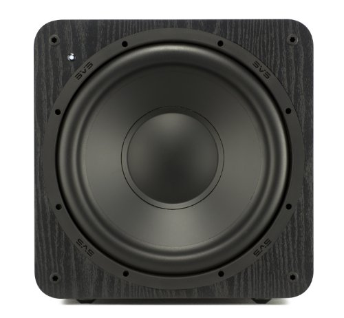 Best Buy! SVS SB-1000 Subwoofer (Black Ash) – 12-inch Driver, 300-Watts RMS, Sealed Cabinet