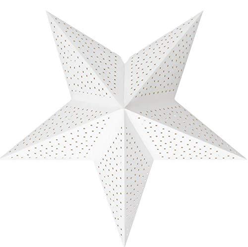 Unbekannt Online Attack # STRÅLA IKEA Leuchtenschirm, Punkte weiß, 48cm Weihnachten