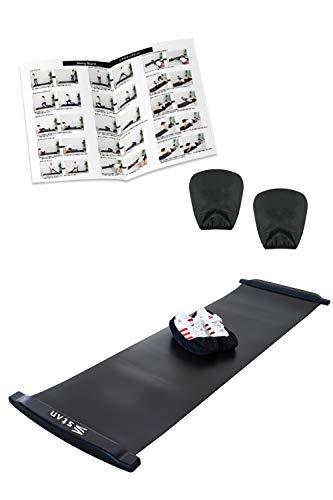 stan スライドボード 180cm 230cm 選べるサイズ [15種目を掲載した説明書付 スライディングボード] 体幹 ...