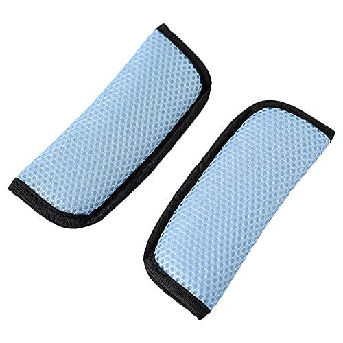 Extensor Cinturon Seguridad Coche Protector Cinturon Coche Asiento Clip de cinturón Ajustador del cinturón de seguridad Sky Blue,One Size