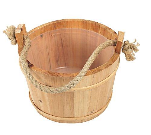 Croll & Denecke Saunakübel aus Holz, diameter 28 cm
