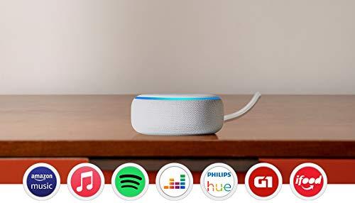 Echo Dot (3ª Geração): Smart Speaker com Alexa - Cor Branca