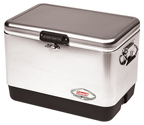 Coleman Steel-Belted Portable Cooler, 54 Quart