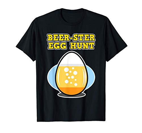 Oster Bier Design für Herren & Damen - Beer-ster Egg Hunt T-Shirt
