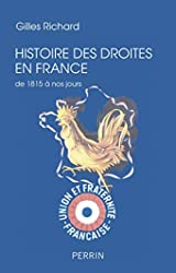 Histoire des Droites en France de Gilles RICHARD