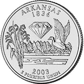 2003 P Arkansas State Quarter Choice Uncirculated