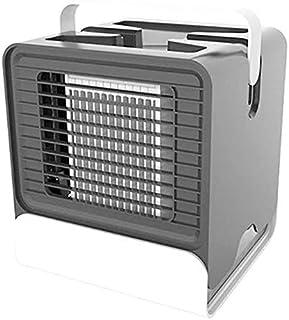 Climatizador Evaporativo Portátil Enfriadores Evaporativos 3 en 1 Mini Aire Acondicionado PortáTil Purificador Y Humidificador de Aire Incorporado El Ahorro de Energía/Negro