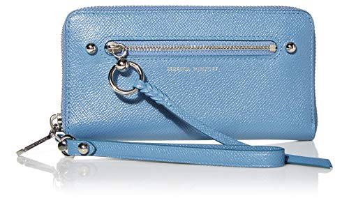 Rebecca Minkoff Women's Gabby Phone Wallet, Cement Blue, One Size