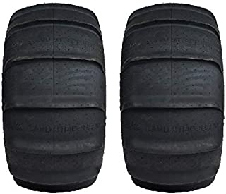 Pair of GMZ Sand Stripper XL Paddle Rear (6ply) ATV Tires [32x13-15] (2)