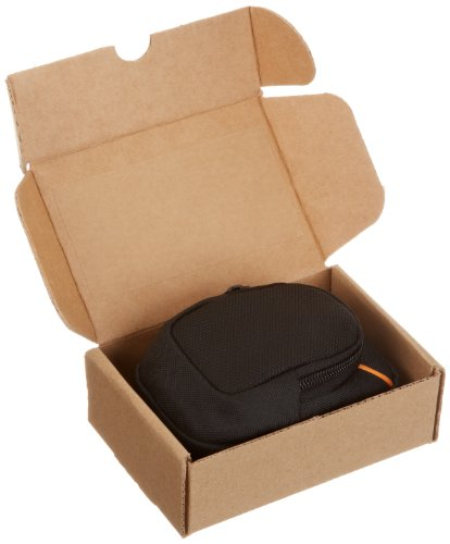 AmazonBasics Medium Point and Shoot Camera Case - 5 x 3 x 2 Inches, Black