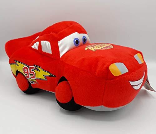 United Labels Peluche Coche Rojo Rayo Mcqueen Cars 30cm Calidad Super Soft