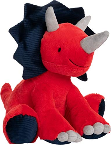 GUND Carson Triceratops Dinosaur Plush Stuffed Animal, Red and Blue, 12""