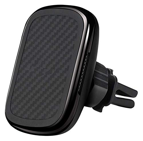 Tenedor de teléfono magnético Cargador inalámbrico Magsez Mount Qi diseñado Magsez Funda Magnético Titular de teléfono para automóvil 360 ° Rotación de carga rápida y ventiladores de enfriamiento inco