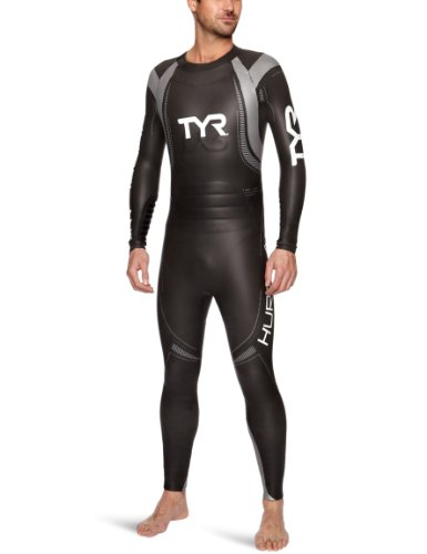 Big Sale TYR Sport Men's Category 3 Hurricane Wetsuit (Medium)