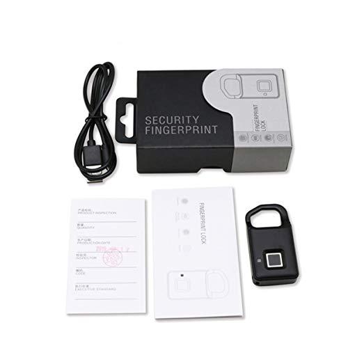 ACEHE P40 Fingerprint Lock Smart Lock Travel Box Student Dormitory Warehouse Door Anti-theft Long Standby Electronic Padlock
