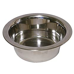 Deluxe quality stainless steel bowl Dishwasher safe Easy to clean Difficult to bend or dent Suitable for both dog food and water
