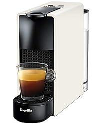 Breville-Nespresso USA BEC220WHT1AUC1 Essenza Mini Espresso Machine, 12.9 x 3.3 x 8 inches, Pure White