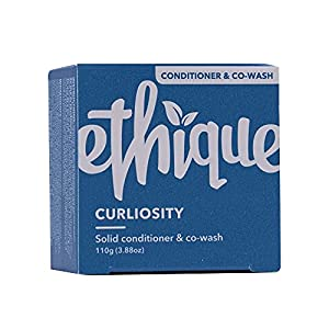 Ethique Conditioner Bar for Curly Hair – Curliosity – Light Weight Natural Cowash for Curly Hair, Sulfate Free, with…
