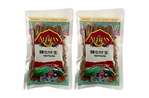 無添加 有機 ペカンナッツ ( 生 ) 100g×2個 ★ ネコポス ★ アメリカの お菓子作り には欠かせない ナッツです。クルミの渋みを除いたようなクセのない味です。 無塩 。
