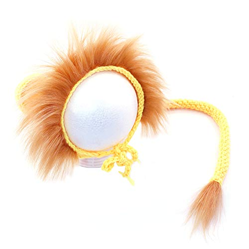 Lowest Price! Anniston Baby Accessories, Newborn Baby Infant Fluffy Lion Hat Cap Tail Photography St...