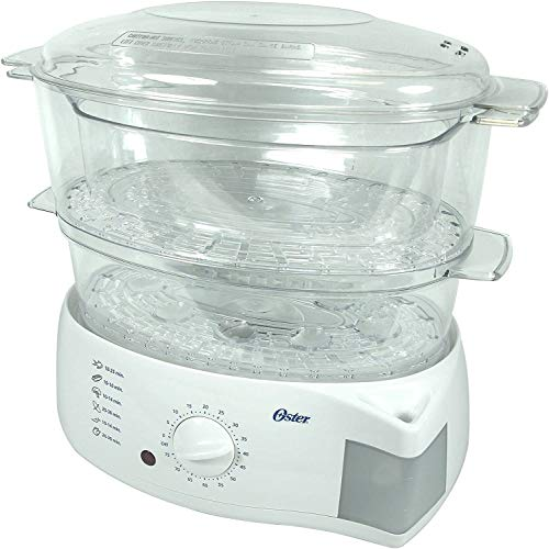 Oster 5711 Cooker & Steamer - 900W - 5.78L - White