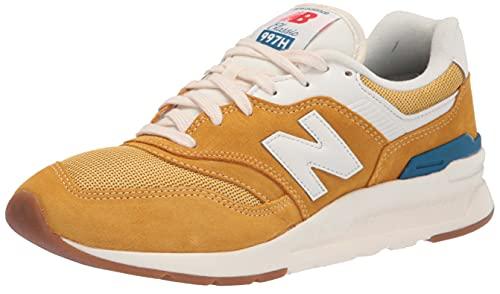 New Balance 997H V1, Chaussures de Sport Homme, Vagues légères Varsity dorées, 41.5 EU
