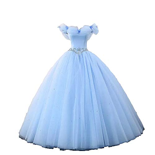 Off the Shoulder Cinderella Wedding Dress