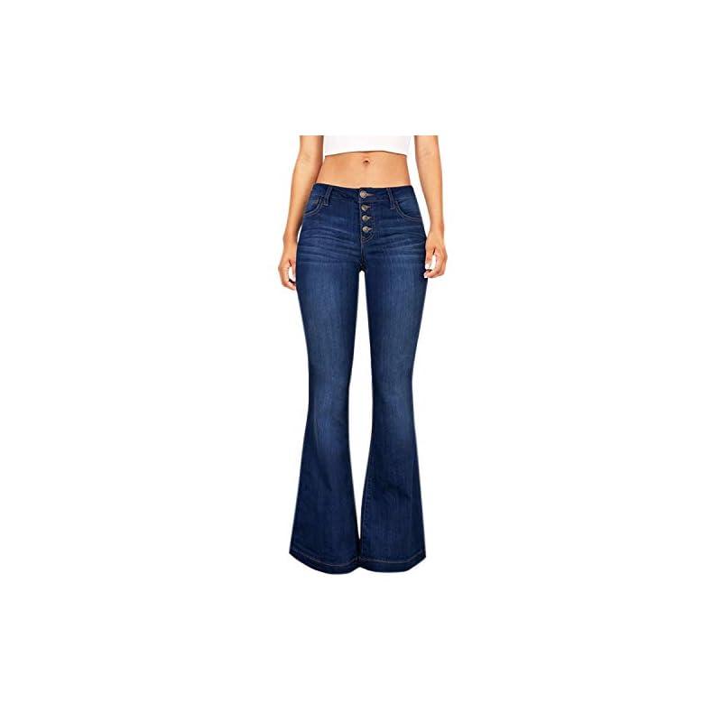 Lisli Damen Jeans Jeanshose High Waist Stretch Skinny