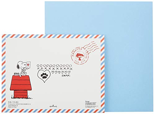 Hallmark ホールマーク レターセット SNOOPY(スヌーピー) ギフトアルバム(セイチーズ!) エアメール 6セット EAL-715-861