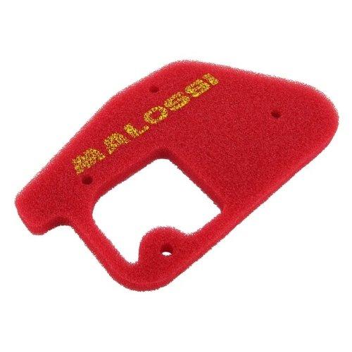 Filtro aria Malossi Red Sponge, per Original AIRBOX, MBK Booster, Booster NG, Spirit, Rocket Booster/YAMAHA BWS
