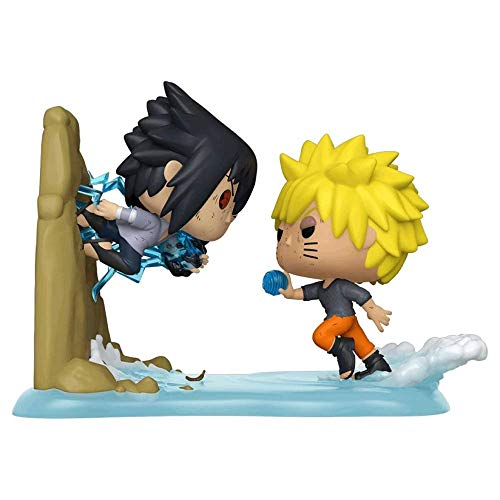 Funko Pop! Naruto Shippuden Naruto Vs Sasuke Exclusive Anime Moments