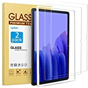 [2-Pack] apiker Screen Protector for Samsung Galaxy Tab A7 10.4 Inch, Tempered Glass/Alignment Frame/High Definition