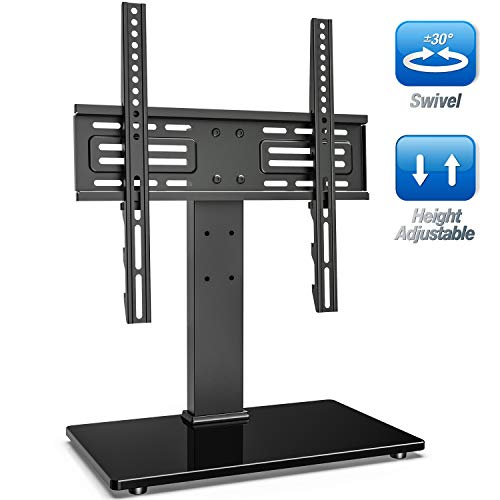 FITUEYES Universal Swivel TV Stand for 27-55 inch LCD LED...