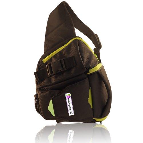 DSLR Camera Bag Sling Backpack – Digital Camera Case Black Shoulder SLR Camera Lens Case