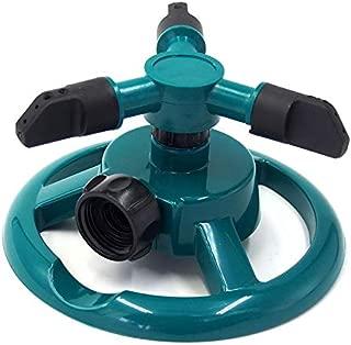 MUSLIN MINK Three Arm Garden Sprinkler Watering Head Lawn 3 Nozzle Water Sprinklers, Sprinkler System Parts - Watering System, Vintage Sprinkler, Sprinkler Base, Sprinkler Shield, Sprinkler Mister