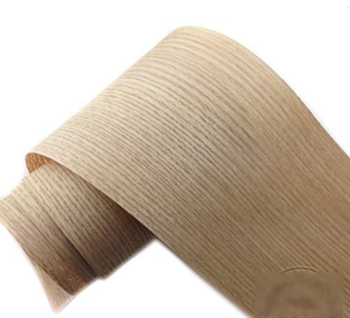 NO LOGO 2pieces / Lot L: 2.5meters Breite: 150 mm Dicke: 0,25 mm Red Oak Bark Holzfurnier Holzmöbelleder Lautsprecher