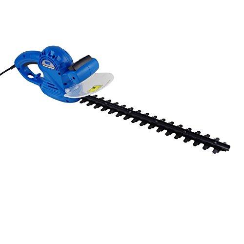 Güde 94001 GHS 510 P Elektro Heckenschere (500W, 460mm Schnittlänge, 16mm Messerabstand, Messer Schnellstop, Schwertschutz)