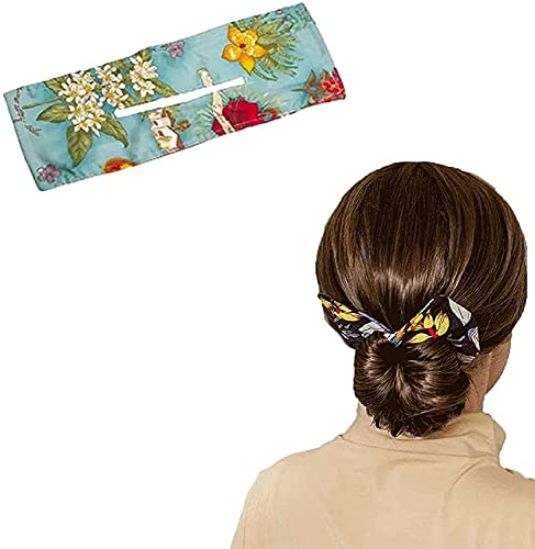Generic Deft Bun,Bun Twister Bow,Hair Donut Bun Maker,Classy Multicolor Cloth Magic Clip,Magic Hair Bun Maker French Twist, Haarknotenmacher für Haarknoten,Französischer Dutt für Haarknoten (1PC/A)