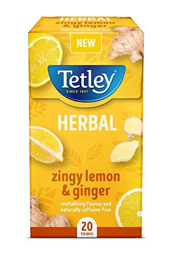 Tetley Zingy Lemon & Ginger Tea Bags
