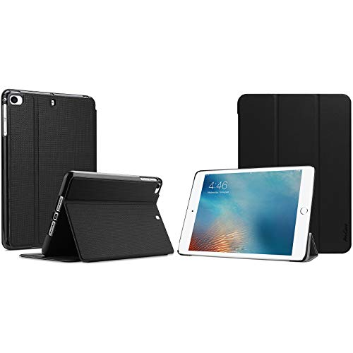 ProCase iPad Mini Case for iPad Mini 5 2019/ Mini 4, Mini 1 2 3, Slim Stand Protective Folio Case Bundle with Slim Case Smart Cover for iPad 9.7 2018 iPad 6th Generation / 2017 iPad 5th Generation