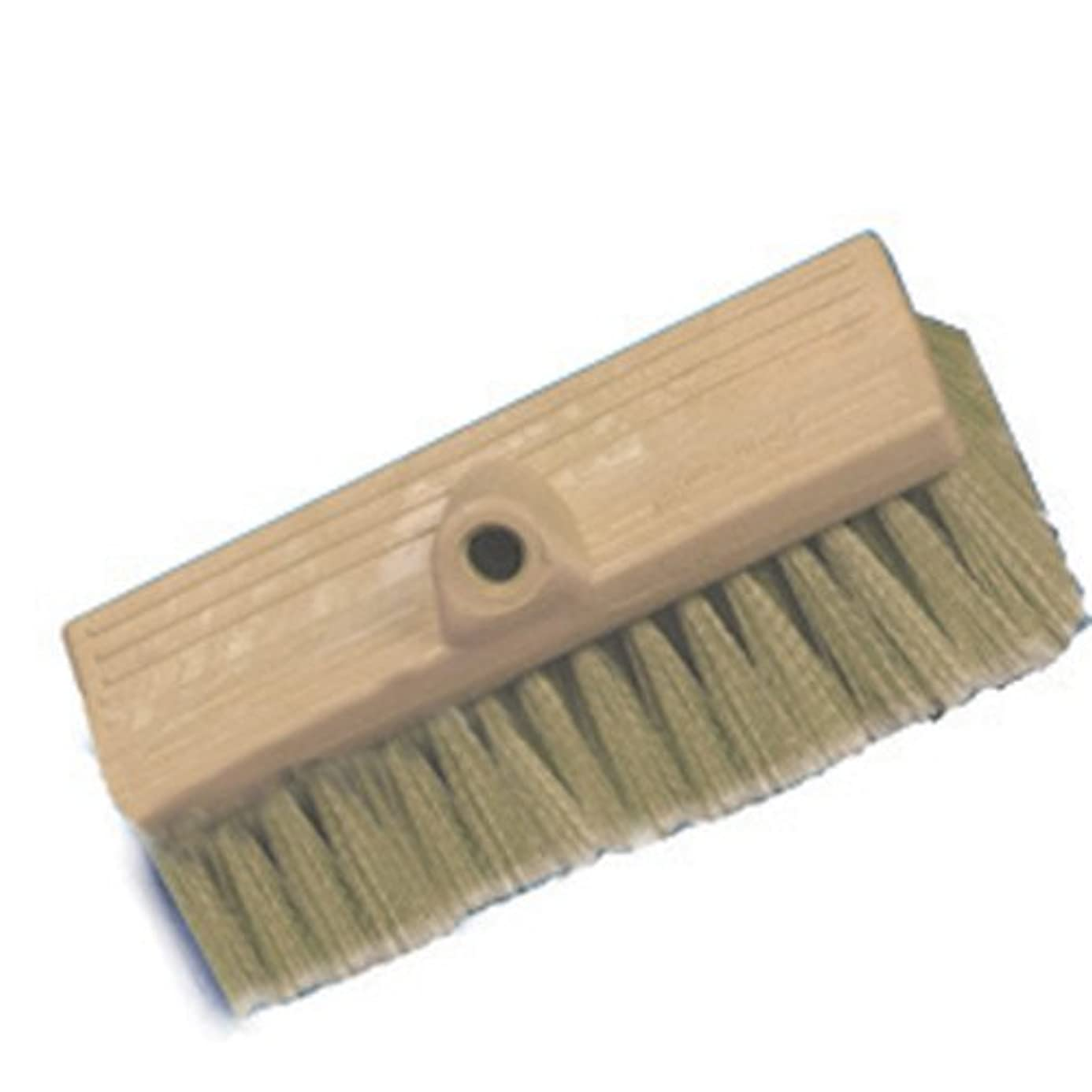 Mr Long Arm, Inc. 0488 Marine Bi-Level Flow-Thru Stiff Tan Brush