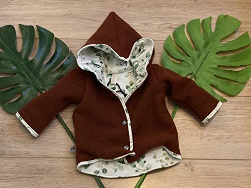 Jacke 62 Übergangsjacke Winterjacke Handmade Baby Kind GEschenk Geburt