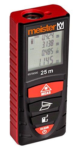 Meister 6578000 laserafstandsmeter, 25 m